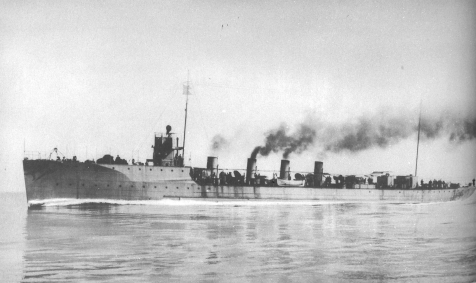 The Samuel W. Preston was the first destroyer built by the Yard. She was one of the first American ships to be powered by the then revolutionary Parson Turbines and made 28 knots with 9,969 horsepower.